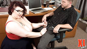 BBW Secretary Pictures